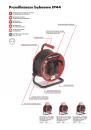Przedłużacz bębnowy Acar M01904 50m czarny