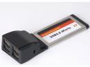 Karta express card Gembird PCMCIAX-USB24 USB 2.0 4-Port