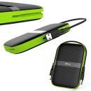 Dysk zewnętrzny Silicon Power ARMOR A60 1TB USB 3.0 BLACK-GREEN/PANCERNY wstrząso/pyło i wodoodporny IPX4