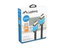 Kabel HDMI Lanberg M/M v2.0 1m czarny pełna miedź Box Premium certyfikat