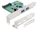 Kontroler USB 3.0 Delock PCIe 2x USB 3.0