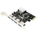 Kontroler PCI-Express LogiLink PC0057A 4x USB3.0