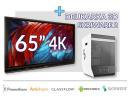 Zestaw interaktywny (Wariant 11) 1x Monitor Interaktywny Promethean 65? 4K + drukarka 3D Skriware