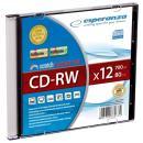Płyta CD-RW 700Mb x 12 Esperanza slim case 1 szt 2071