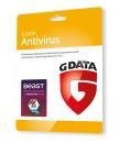 GDATA Antivirus 3PC 1rok karta-klucz