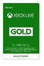 Licencja MS ESD Xbox LIVE 6 Miesięcy Gold