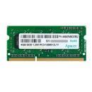 Pamięć SODIMM DDR3 Apacer 4GB (1x4GB) 1600MHz CL11 1,35V