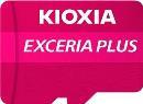 Karta pamięci MicroSDXC KIOXIA EXCERIA PLUS 64GB UHS-I Class 10