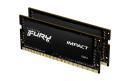 Pamięć SODIMM DDR4 Kingston Fury Impact 64GB (2x32GB) 2933MHz CL17 1,2V