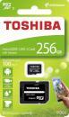 Karta pamięci MicroSDXC TOSHIBA M203 (SDU256GSDHCU1M203EATR) 256GB UHS-I Class 10 + adapter