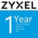 Licencja Zyxel do UTM ZYXEL 1 YR Content Filtering/Anti-Spam/Anti-Virus Bitdefender Signature/IDP License for USG60 & USG60W