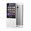 Telefon komórkowy Nokia 230 DS White-Silver