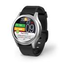Smartwatch MyKronoz ZEROUND3 srebrno/czarny