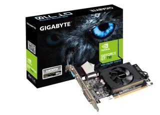 Karta VGA Gigabyte GT710 2GB DDR3 64bit VGA+DVI+HDMI PCI-E LP - MaxSklep
