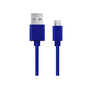 Kabel USB ESPERANZA Micro USB 2.0 A-B M/M 1,0m | niebieski - MaxSklep