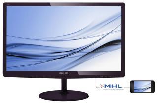 "Monitor LCD Philips 21,5"" LED IPS 227E6EDSD/00 DVI HDMI MHL - MaxSklep"
