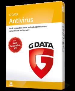 AntiVirus G Data 2015 1PC 2LATA BOX - MaxSklep