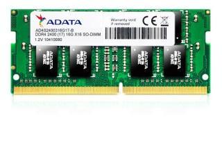 Pamięć DDR4 SODIMM ADATA Premier 8GB (1x8GB) 2400MHz CL17 1,2V BULK