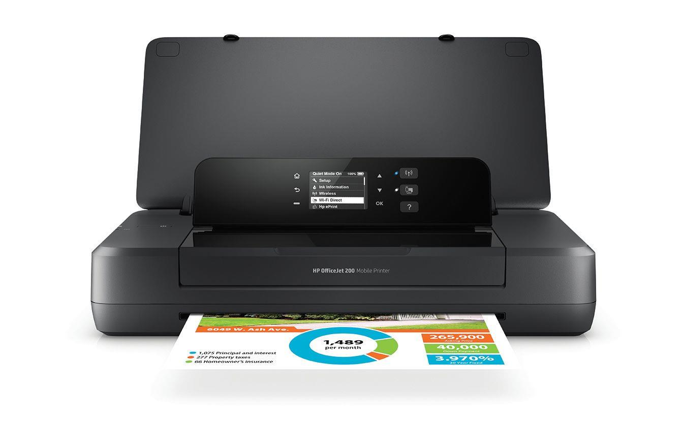 Drukarka atramentowa mobilna HP OfficeJet 202