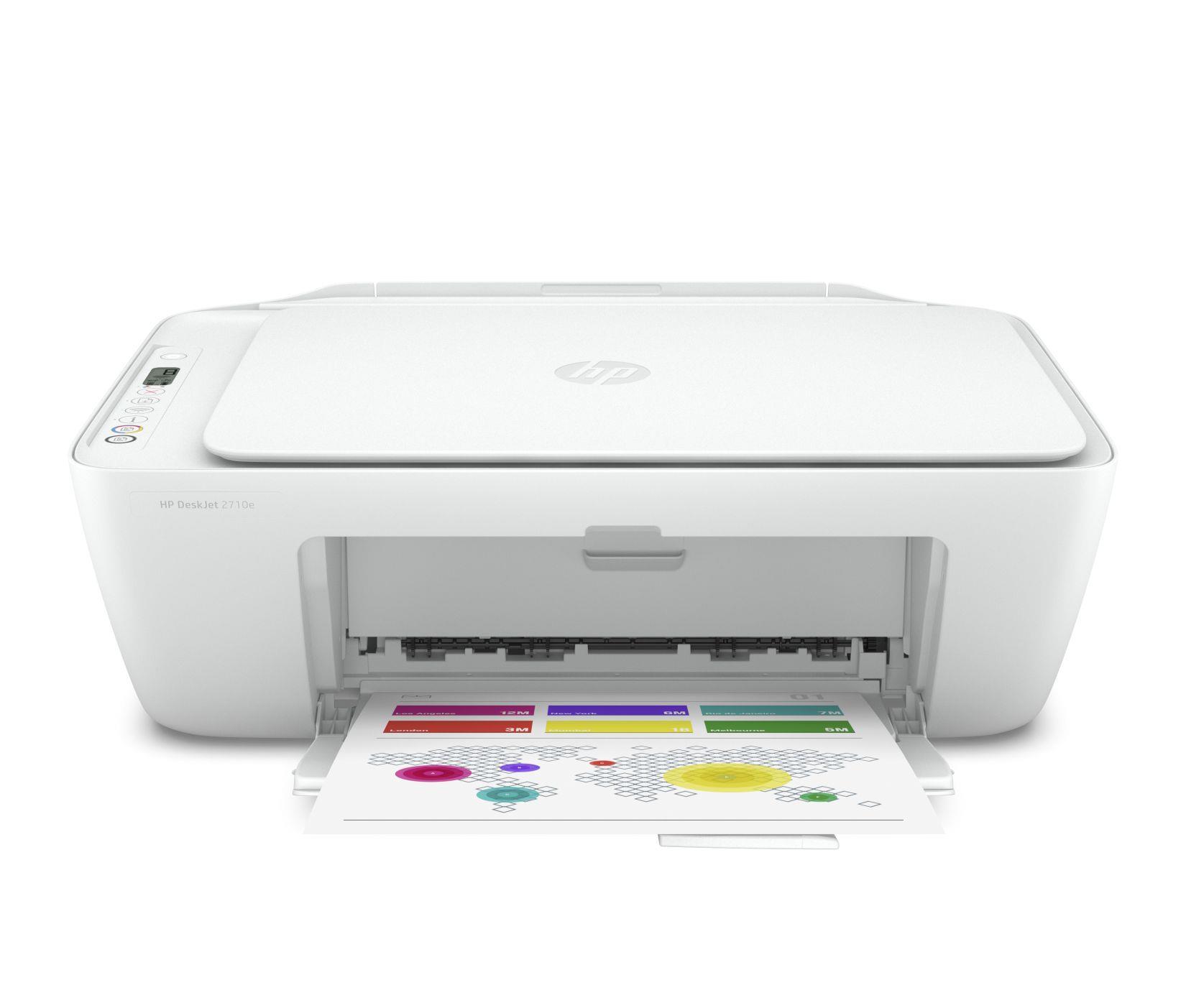 Urządzenie wielofunkcyjne HP DeskJet 2710e 3 w 1