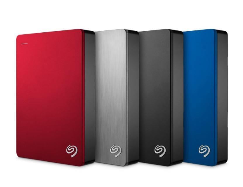 Dysk zewnętrzny SEAGATE BACKUP PLUS  STDR4000902 4TB USB3.0 czerwony (1)