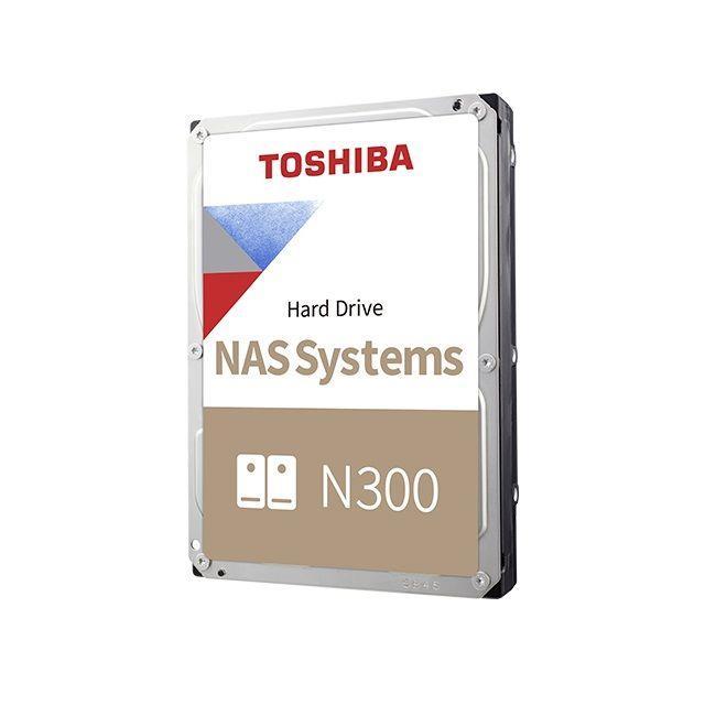 Dysk Toshiba N300 HDWG160UZSVA 3,5' 6TB SATA - NAS BULK