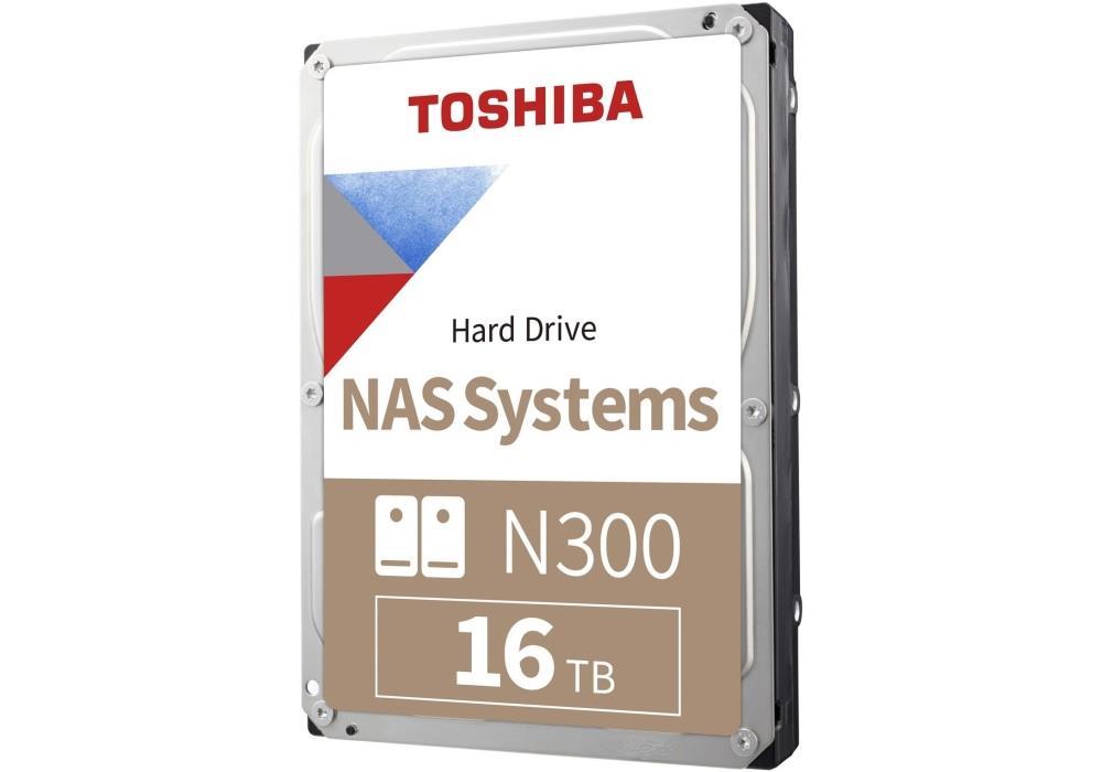 Dysk Toshiba N300 HDWG31GUZSVA 3,5 cal  16TB SATA 7200 512MB BULK