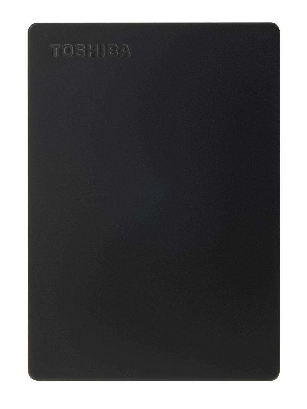 Dysk zewnętrzny Toshiba Canvio Slim 2TB, USB 3.0, black