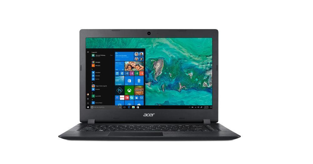 Notebook Acer Aspire 1 14 cal HD  N4020 4GB 64GB UHD620 W10 Black
