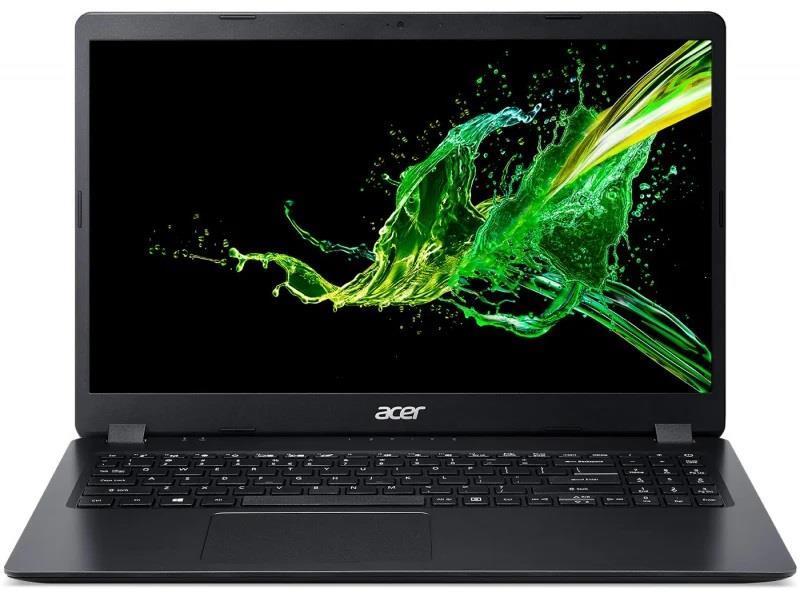 Notebook Acer Aspire 3 15.6 cal FHD  i3-1005G1 4GB SSD256GB UHD  Black