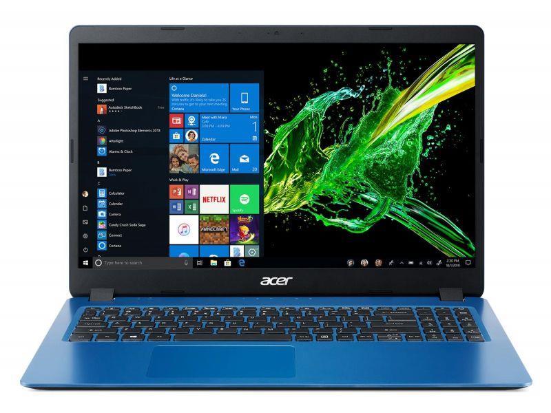 Notebook Acer Aspire 3 15.6 cal FHD  i5-1035G1 8GB SSD512GB UHD W10 Blue