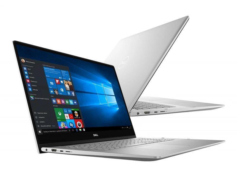 Notebook Dell Inspiron 7791 17,3 cal FHD Touch i7-10510U 16GB SSD512GB MX250-2GB W10 Silver (1)