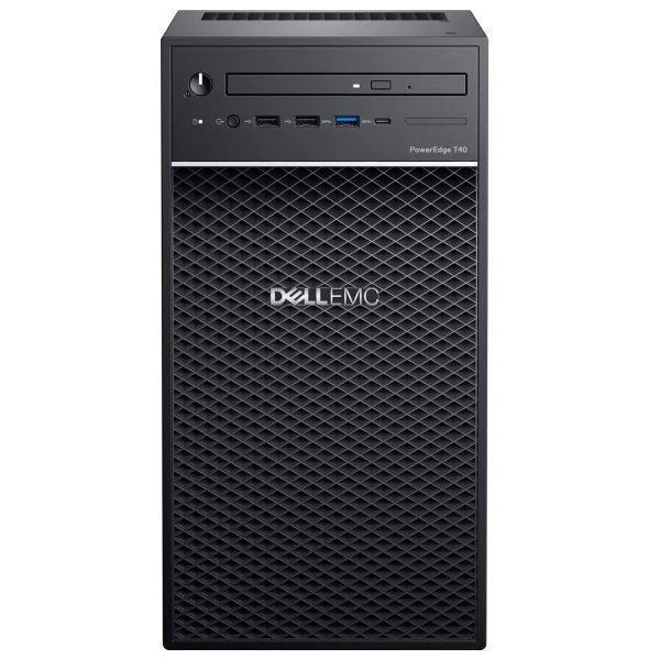 Serwer Dell PowerEdge T40  E-2224 8GB 1TB 1Y NBD