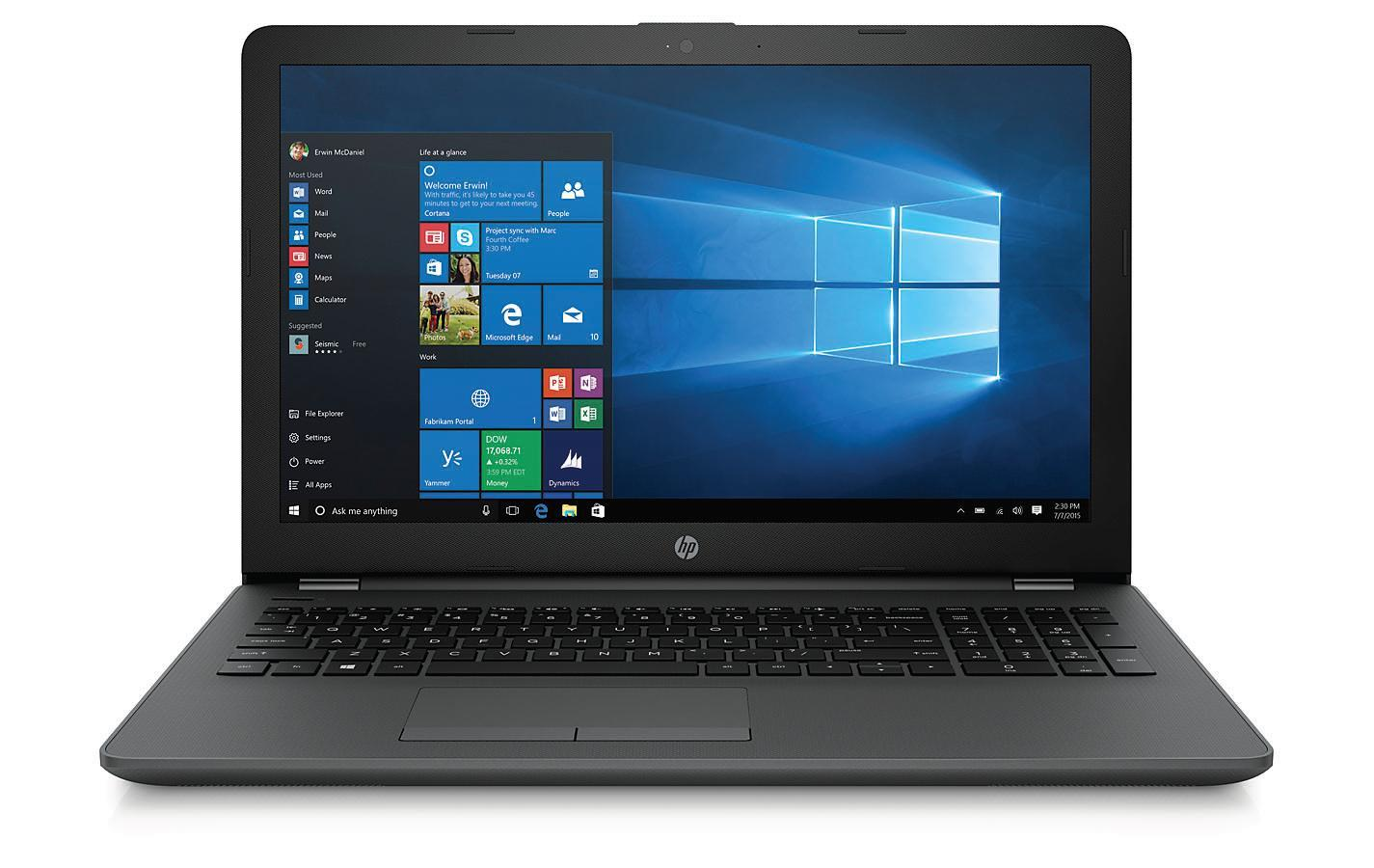 Notebook HP 250 G6 15,6 cal HD N4000 4GB SSD128GB UHD600 DOS Dark Ash Silver