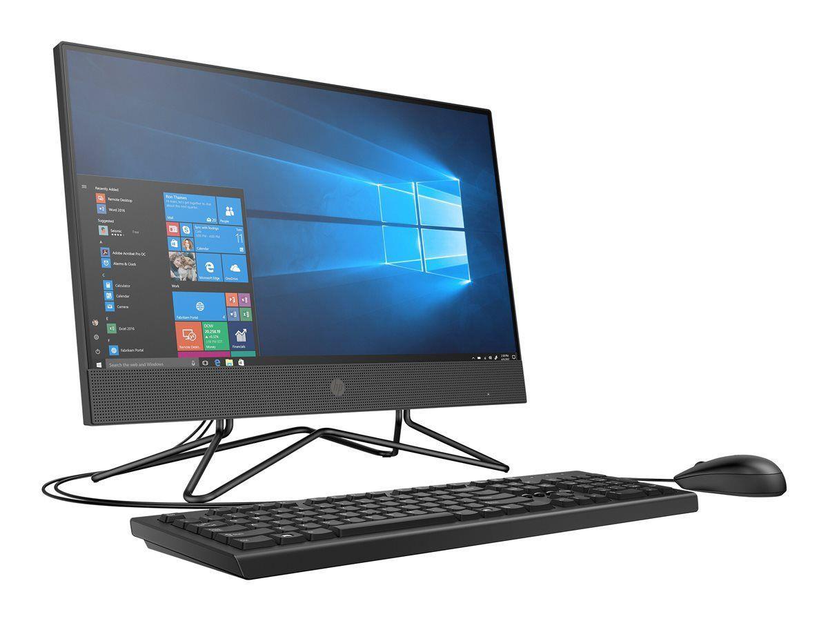 Komputer AIO HP 205 G4 23,8 cal  Ryzen 3 3250U 8GB SSD256GB Radeon Graphics 10PR Black 3Y