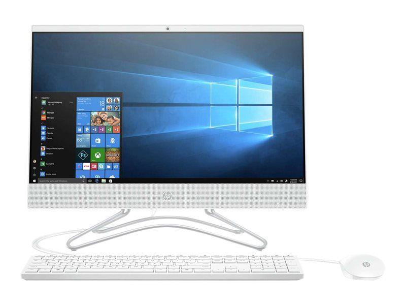 Komputer AIO HP 200 G4 21,5 cal  i3-10110U 8GB SSD256GB UHD 10PR White