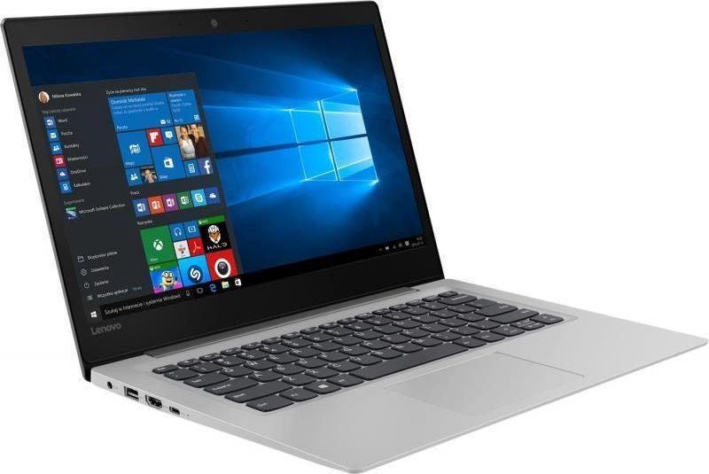Notebook Lenovo IdeaPadS130-14IGM 14 cal FHD N4000 4GB SSD128GB UHD600 W10 Grey