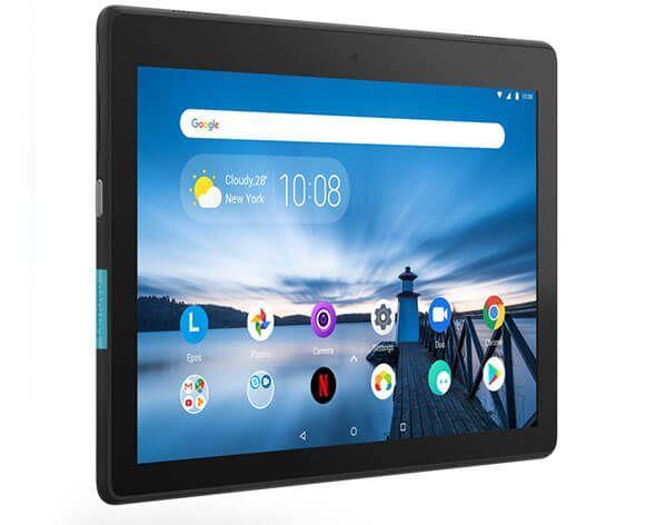 Tablet Lenovo TAB E10 TB-X104F 10.1 cal  APQ8009 2GB 16GB GPS WiFi Andr.8.1 Black