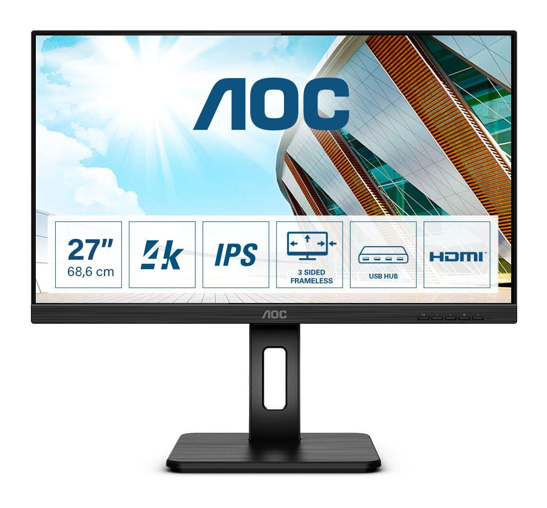 Monitor AOC 27 cal  U27P2CA 2xHDMI DP 4xUSB głośniki