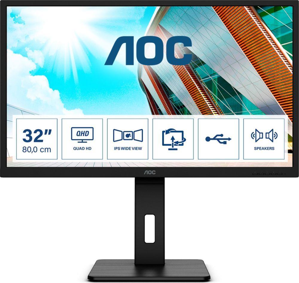 Monitor AOC 31,5 cal  Q32P2 2xHDMI DP 4xUSB 3.1 głośniki
