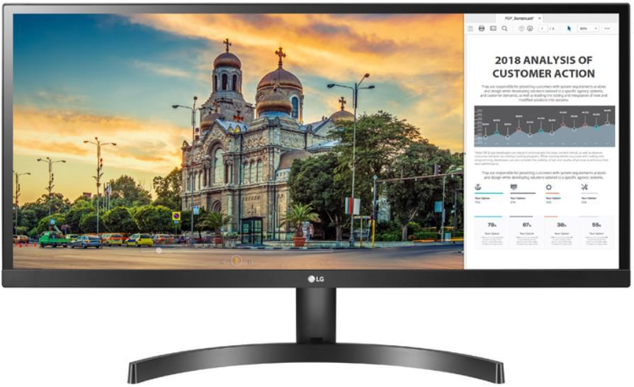 Monitor LG 34 cal  34WK500-P LED IPS 2xHDMI
