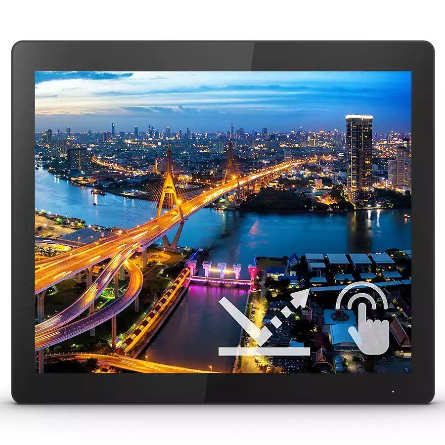 Monitor Philips 15 cal  152B1TFL 00 Touch VGA DVI HDMI DP 3xUSB 3.2 miniUSB