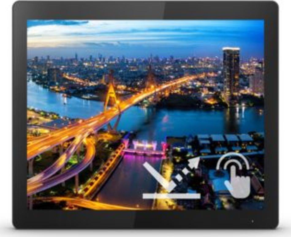 Monitor Philips 17 cal  172B1TFL 00 Touch VGA DVI HDMI DP 3xUSB MiniUSB