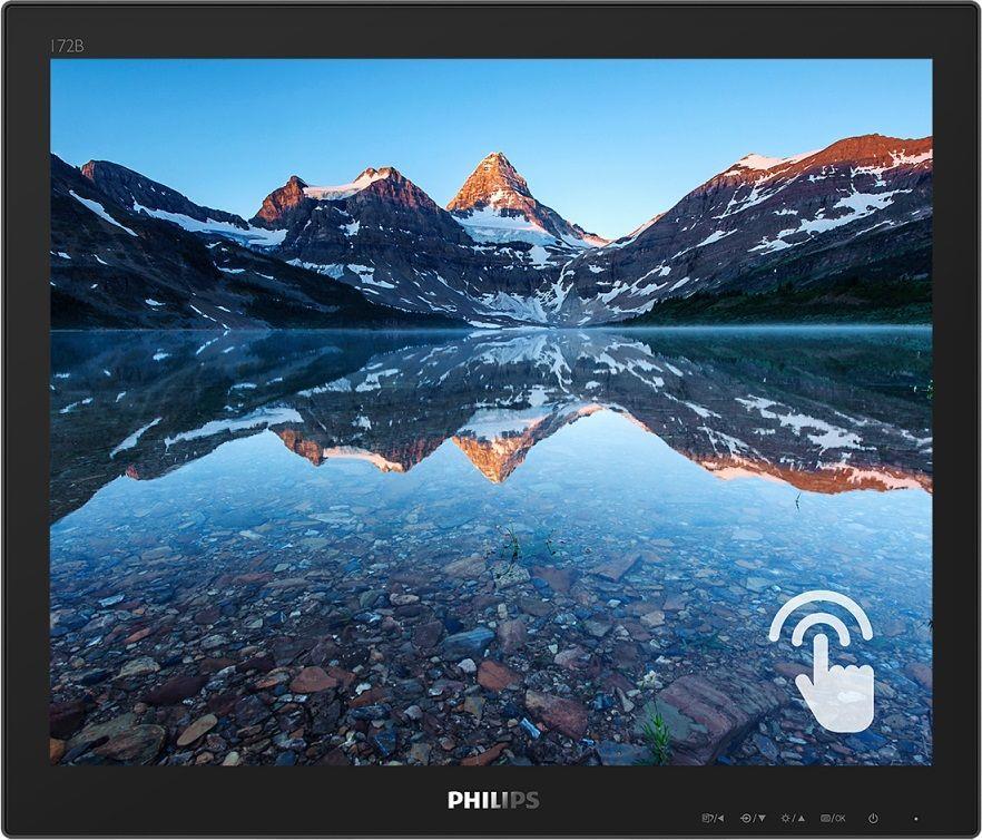Monitor Philips 15,6 cal  172B9TN 00 Touch VGA DVI HDMI DP 2xUSB 3.1 głośniki