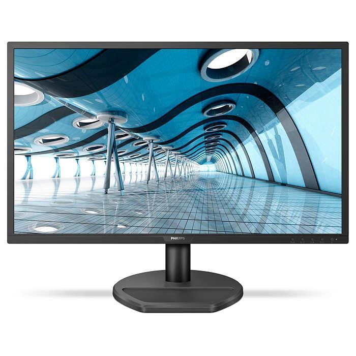 Monitor Philips 21,5 cal  221S8LDAB 00 TFT VGA HDMI DVI glosniki