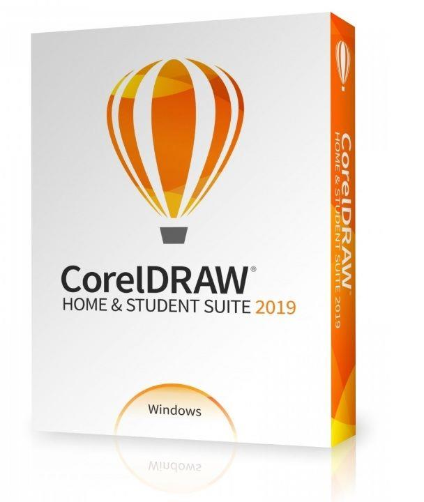 Program CorelDRAW Home & Student Suite 2019 CZ PL