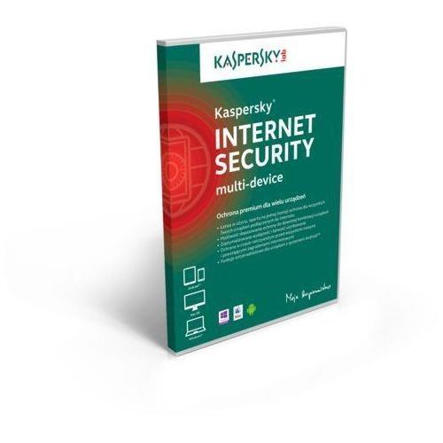 Licencja BOX Kaspersky Internet Security - multi-device 2 stanowiska 1 rok - promocja przy zakupie z komputerem lub notebookiem