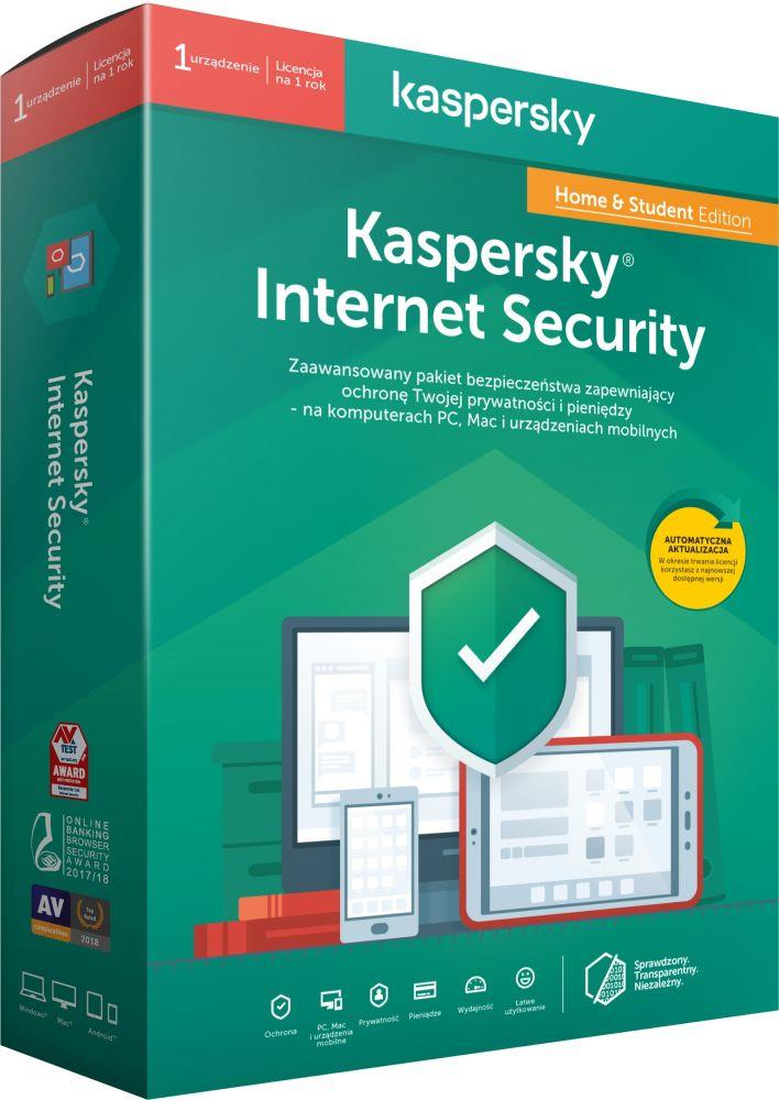 Licencja BOX Kaspersky Internet Security Home&Student - multi-device 1 stanowisko 1 rok (2)