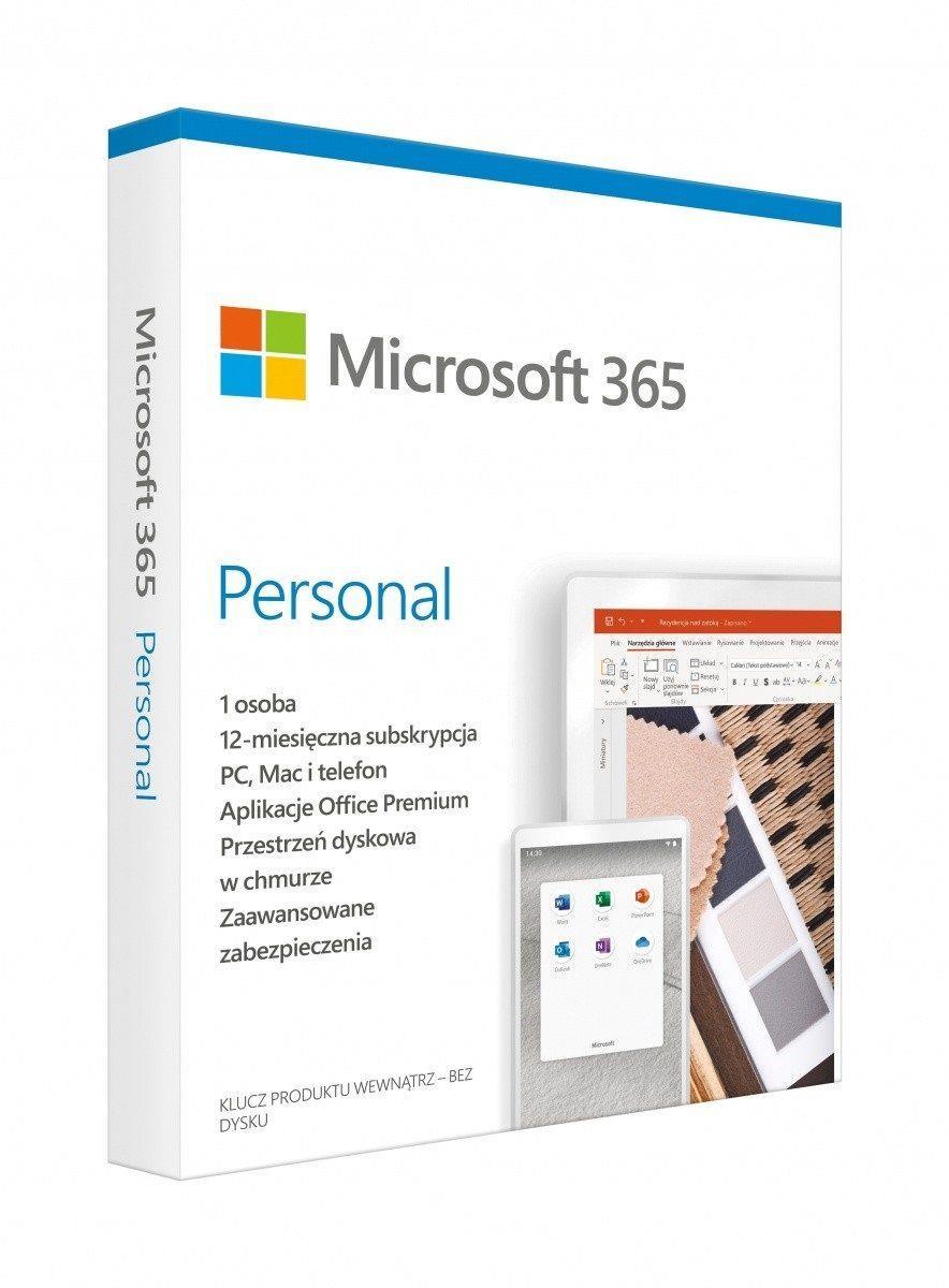 Oprogramowanie Microsoft 365 Personal PL P6 1Y 1U Win Mac