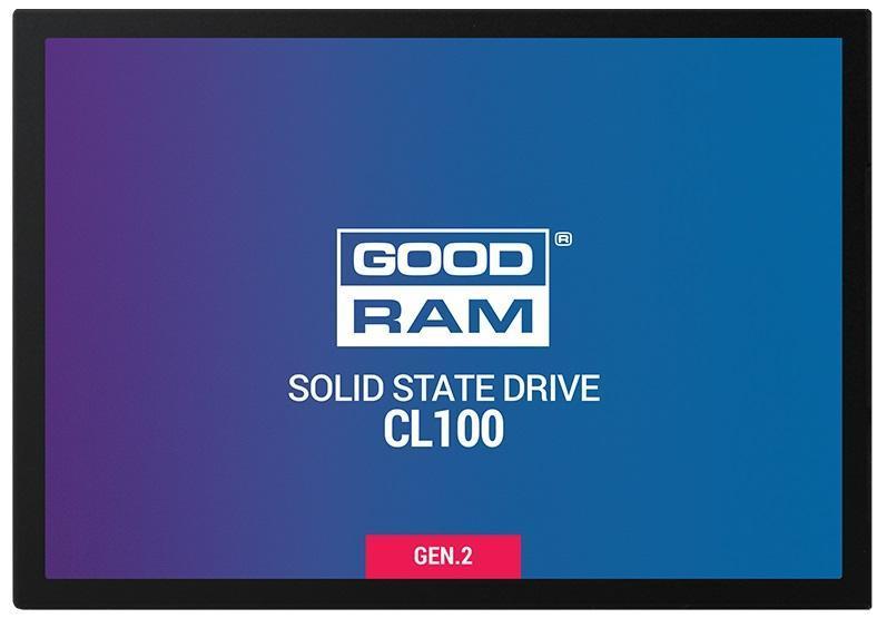 Dysk SSD GOODRAM CL100 480GB SATA III 2,5 cal  GEN.2 (550 450) 7mm